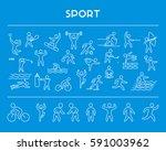 line design concept web banner...   Shutterstock . vector #591003962