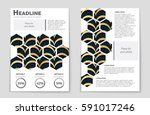 abstract vector layout... | Shutterstock .eps vector #591017246