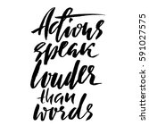 hand drawn vector lettering....   Shutterstock .eps vector #591027575