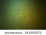 water drops on glass | Shutterstock . vector #591053372