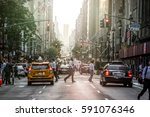 new york  usa   october 18 ... | Shutterstock . vector #591076346