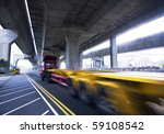 container car fast moving under ... | Shutterstock . vector #59108542