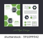 front and back corporate... | Shutterstock .eps vector #591099542