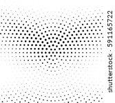 grunge halftone background.... | Shutterstock .eps vector #591165722