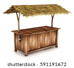 table  outdoor counter with a... | Shutterstock . vector #591191672