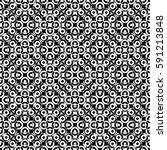 vector monochrome seamless...   Shutterstock .eps vector #591213848