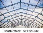 steel construction | Shutterstock . vector #591228632