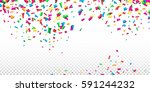 abstract background with many... | Shutterstock .eps vector #591244232