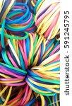 rubber band | Shutterstock . vector #591245795
