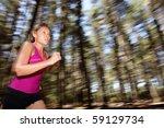 Running  Female Runner Running...