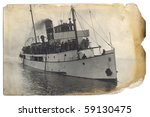 old postcard | Shutterstock . vector #59130475