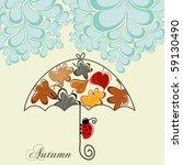 autumn concept | Shutterstock .eps vector #59130490