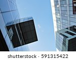 modern office building | Shutterstock . vector #591315422