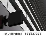 horizontal side view of empty... | Shutterstock . vector #591337316