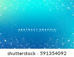 geometric graphic background... | Shutterstock .eps vector #591354092
