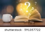question book | Shutterstock . vector #591357722