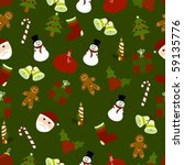 Seamless Pattern Of Several...