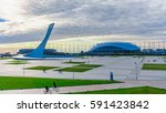 sochi  russia  january 15  2016 ... | Shutterstock . vector #591423842