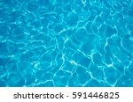 blue ripped water in swimming... | Shutterstock . vector #591446825