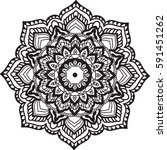 vintage decorative elements.... | Shutterstock .eps vector #591451262