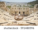 athens greece  september 6 2016 ... | Shutterstock . vector #591480596
