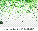seamless border background with ... | Shutterstock .eps vector #591498986