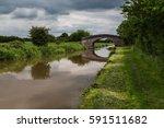 seen along the shropshire union ...   Shutterstock . vector #591511682