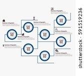 modern infographics options... | Shutterstock .eps vector #591519236