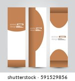 banner template. abstract... | Shutterstock .eps vector #591529856