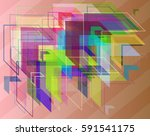 direction vector template | Shutterstock .eps vector #591541175