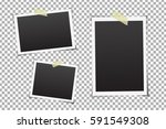 vector collection of photo... | Shutterstock .eps vector #591549308