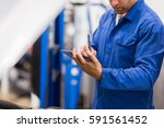 auto service   maintenance and... | Shutterstock . vector #591561452