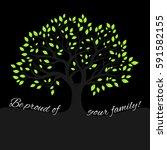 Genealogical Tree Concept....