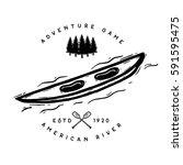 rafting logo | Shutterstock .eps vector #591595475
