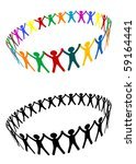 round of peoples as a... | Shutterstock .eps vector #59164441
