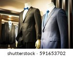 male mannequin formal wear... | Shutterstock . vector #591653702