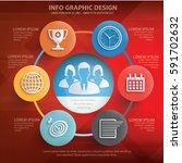 business info graphics design... | Shutterstock .eps vector #591702632