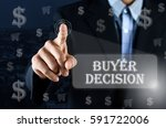 business man pointing his hand... | Shutterstock . vector #591722006
