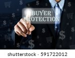 business man pointing his hand... | Shutterstock . vector #591722012