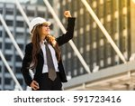 happy in work can win a game...   Shutterstock . vector #591723416