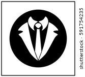 the tuxedo  vector | Shutterstock .eps vector #591754235