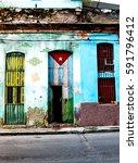 havana  cuba   december 11 ... | Shutterstock . vector #591796412