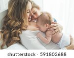 mother with children    Shutterstock . vector #591802688