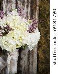 retro organic wedding bouquet   ...   Shutterstock . vector #59181790