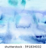 artistic hand made watercolor... | Shutterstock . vector #591834032