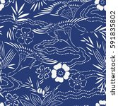 Japanese Seamless Pattern Of...