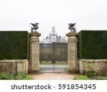 gate at powis castle