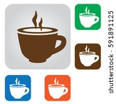cup icon | Shutterstock .eps vector #591891125