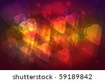 Magical Lights Of Love Abstrac...