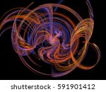 abstract background. fractal... | Shutterstock . vector #591901412